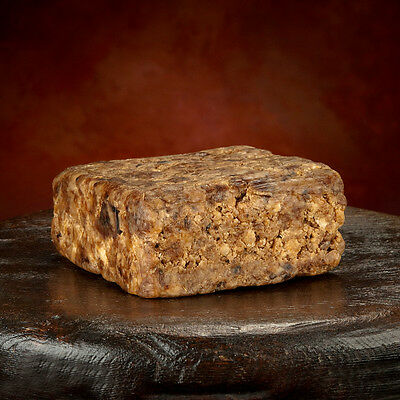 Raw Organic African BLACK SOAP From GHANA 3 Ounces Pure *All Natural Soap!