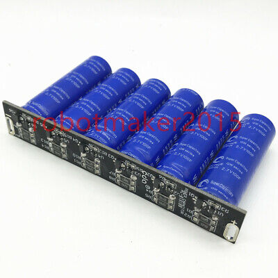 16v 16.6f 2.7v 100f Super Farad Car Capacitors Module Kit Rectifier Power Supply