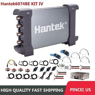 Hantek 4ch Automotive Usb Oscilloscope 70mhz 1gsas Sampling Hantek6074be Iv