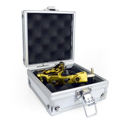 Pad Set Box (Tattoo Carrying Case Storage Padded Box Machine Gun Set Aluminium)