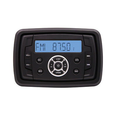Rzr Stereo (Polaris RZR In Dash Bluetooth Stereo with USB Port  FM AM radio)