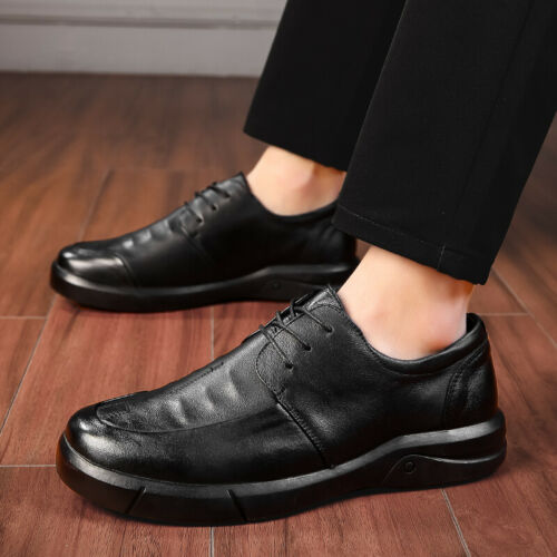 Details about  /Mens Oxfords Hollow out Breathable Work 44 Business Leisure Faux Leather Shoes D