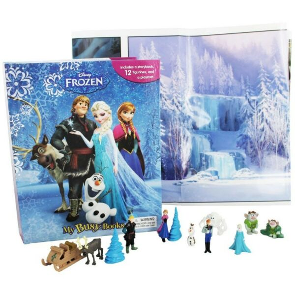 BN: Disney Frozen My Busy Book including 12 figurines and a playmat