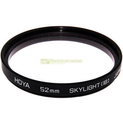 52mm. Filtro Skylight 1B Hoya. Sky light filter 1 B. Filtro fotografico 52 mm.