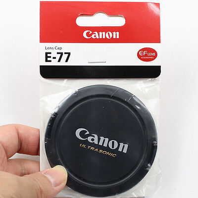77mm Snap On Front Lens Cap Cover for Canon Ultrasonic 77mm Lens
