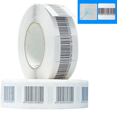 Eas Security Checkpoint Compatible Soft Label Tag 20000pcs30mmx30mm 8.2 Mhz