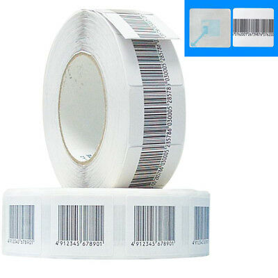 Eas Anti-theft Security Checkpoint Soft Label Tag 5000pcs 8.2 Mhz 30mmx30mm