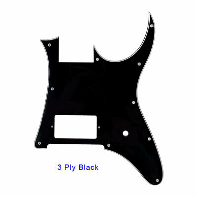 For MIJ Ibanez RG350 EX Guitar Pickguard Blank With Bridge Humbucker, 3Ply Black for sale  China