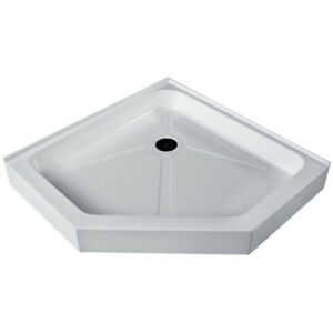 NEW VIGO VG06069WHT36 NEO ANGLE SHOWER BASE White $387