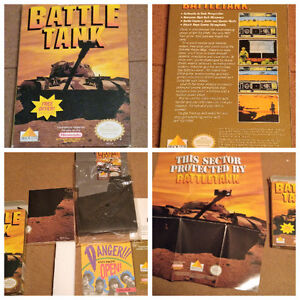 Battle Tanks - NES - Mint in box with all papers & poster