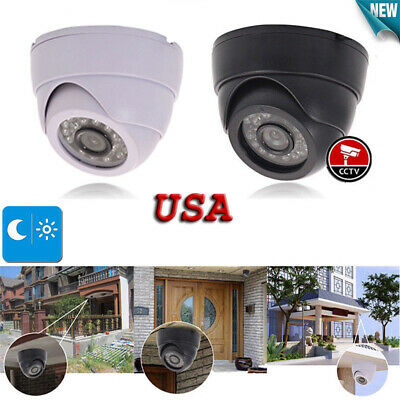 1080P Analog CCTV Dome Camera 3.6mm 100° Wide Angle Night Version Home Security