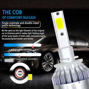 880/881/H27 LED Headlight 8000LM 6000K 72W Front Lamp Super Bright