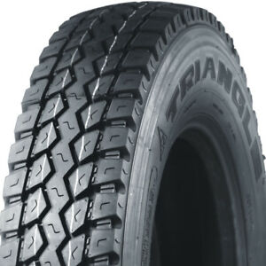 6 BRAND-NEW LT225/70R19.5 14 PLY TRIANGLE ALL SEASON TIRES.