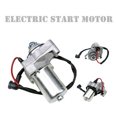 Top Mount Electric Starter Motor 3 Bolts For 50-110cc Electric Bike ATV Pit Pro