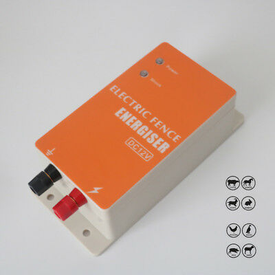 Dc12v Main Power Elecric Fence Energiser Charger Fencing Energizer Controller