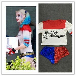Suicide Squad Harley Quinn Daddy's Lil Monster Costume