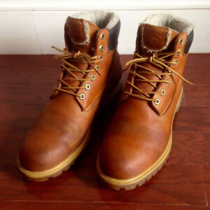 """Timberland 6"""" Fur Lined Waterproof Boots - Size 12"""