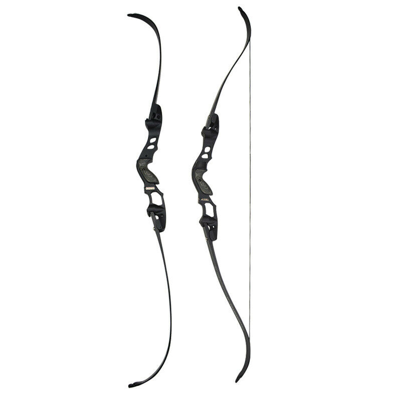 """63/"""" ILF Recurve Bow 30-55lbs Archery American Hunting Bow Longbow IBO 210FPS"""
