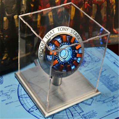 Marvel The Avengers Iron Man MARK1 Tony DIY Arc Reactor LED Lamp Kits Figure COS](Halloween Diy Games)
