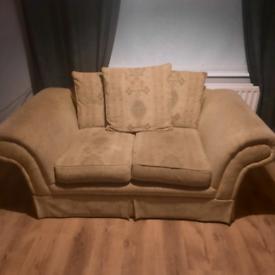 2 Matching 2 seater sofa's