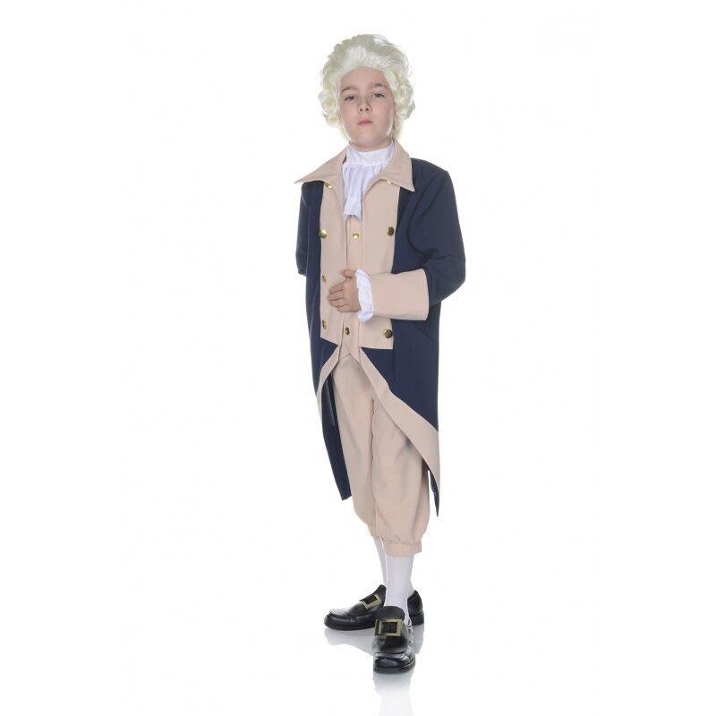 Underwraps George Washington President Boys History Halloween Costume 25880