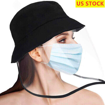 Anti Saliva Fishman Hat Clear Splash Full Face Protection Cover Outdoor Cap