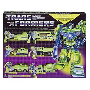 Transformers G1 Devastator Reissue-Walmart Exclusive 2018 Not KO