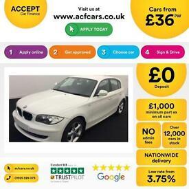 BMW 116 2.0TD 2009MY d Sport FROM £36 PER WEEK !
