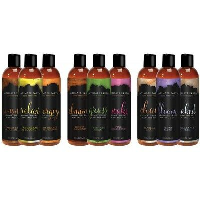 Intimate Earth Aromatherapy Massage Oil vanilla chai blush honey almond coconut (Coconut Massage Oil Sexual)
