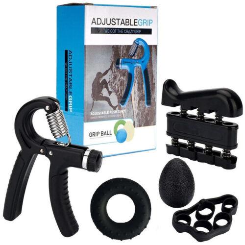 5Stk. Premium Handtrainer-Set für optimales Unterarmtraining - Fingertrainer