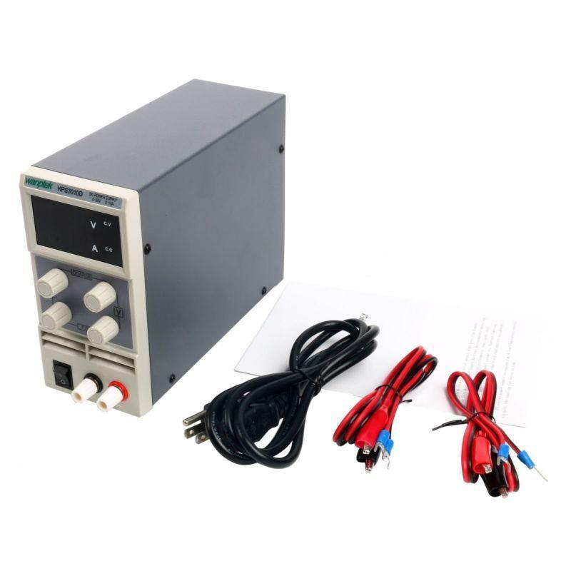 KPS3010D 0~30V 10A Adjustable Power Supply Digital Switching DC AC 110V