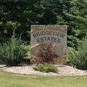 Executive building lots Bridgeview Estates 69000-99000