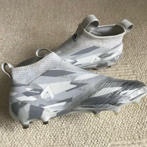 "Adidas Men's Ace 17+ Purecontrol FG Soccer Cleats ""White Camo"""