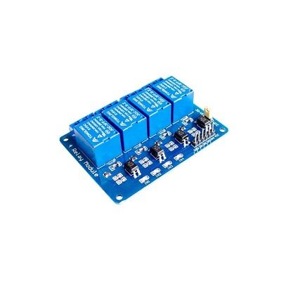 4 Four Channel Relay Module Dc 5v Optocoupler For Arduino Pic Arm Avr Dsp