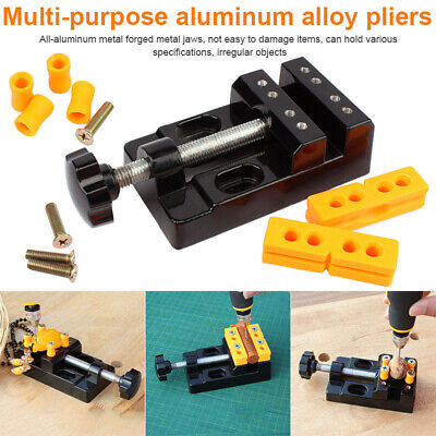 Multifunction Flat Pliers Clamp Table Bench Vice Jewelry Too