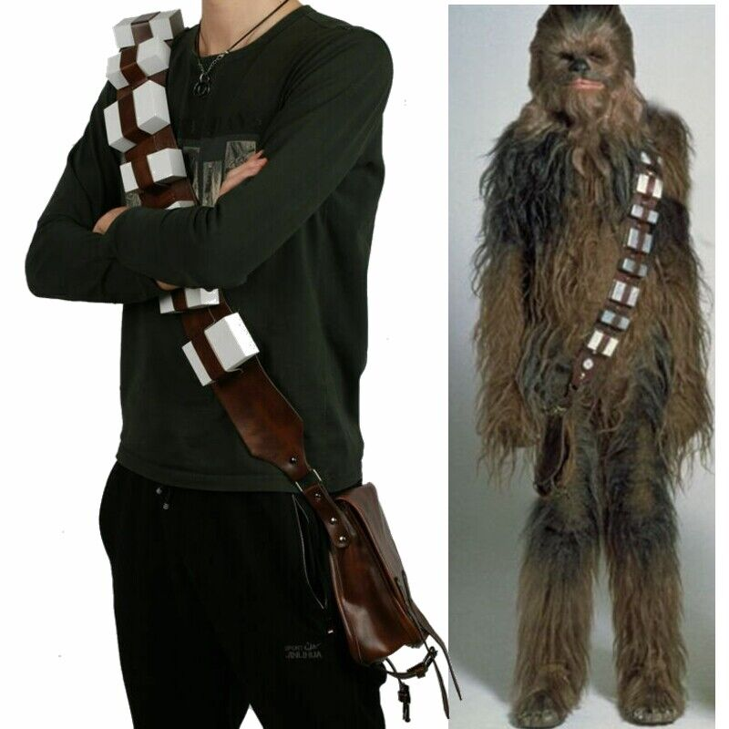Chewbacca Belt Backpacks Star Wars Cosplay Costume Prop 1:1 Replica Halloween