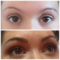 You can have Perfect Eyebrows with MicroBlading Eyebrow Artistry