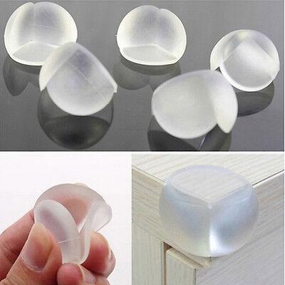 20× Baby Kinder Silikon Eckenschutz Kantenschutz Tischkantenschutz 3×3×2.5cm