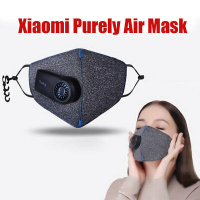 Xiaomi Purely Air Mask Pm2.5 Dust Anti-pollution Usb Rechargeable Smart Filter