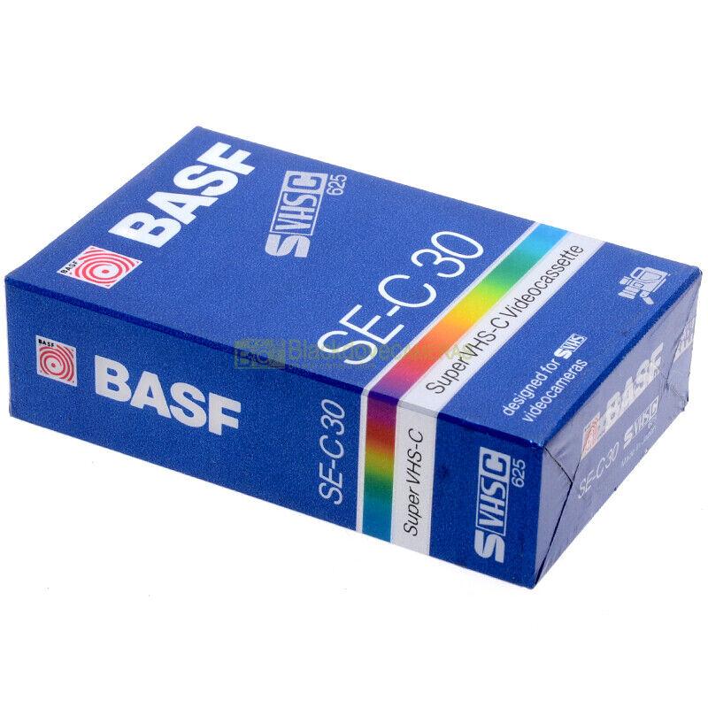 Basf SE-C30 Videocassetta Super VHS, nuova sigillata. Vergine. SVHS 625