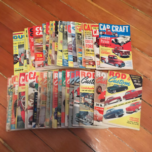 Hot Rod Magazines Late 50's to Early 60's