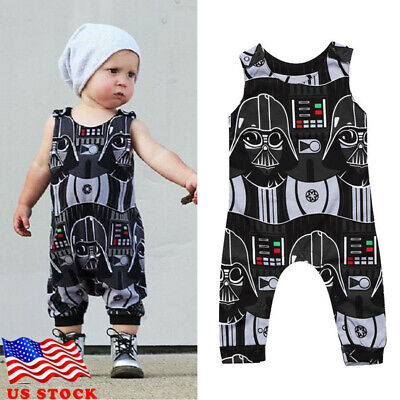 Kids Baby Boys Newborn Infant Star Wars Romper Bodysuit Jumpsuit Clothes Outfits](Childrens Star Wars Clothing)