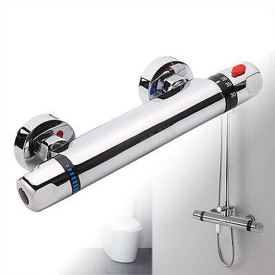 Duscharmatur Bad Thermostat Dusche Einhandmischer Mischbatterie Brausethermostat