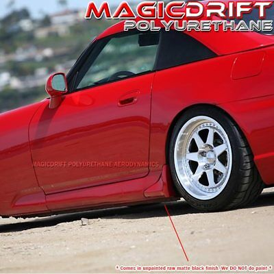 For 2000-2009 HONDA S2000 S2K AP1 AP2 OE STYLE SIDE SKIRTS SILL STRAKES CORNERS for sale  Shipping to Canada