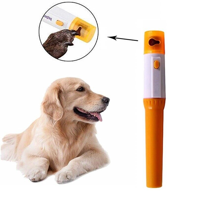 Electric Dog Nail Grinder Clippers Cutters Trimmer Safe Painless for Pets Cats