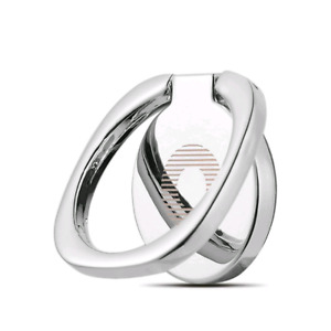 New. Silver cell phone ring