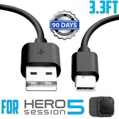 3ft For GoPro Hero Black 6 5 session Camera USB Data Sync Power Charger Cable
