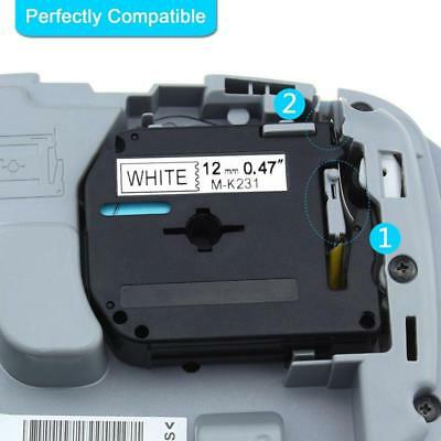 5pk M-k221 M621 Label Tape M Series Compatible With Brother P-touch Pt-90 38