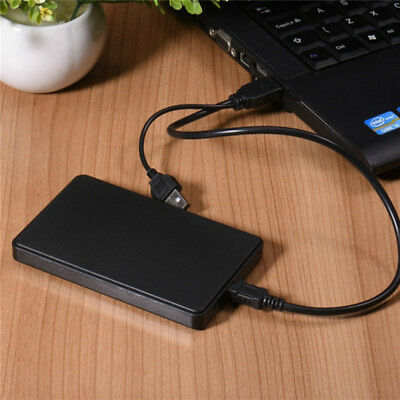 USB 3.0 1TB Hi-Speed External Hard Drives Portable Desktop Mobile Hard Disk Case