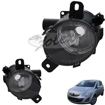 Für Opel Corsa D STOßSTANGE GITTER Nebelscheinwerfer Abdeckung Rechts 6400631
